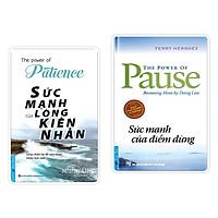 Sách - Combo Sức Mạnh Của Lòng Kiên Nhẫn + Sức Mạnh Của Điểm Dừng - First News