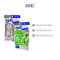 Combo Viên uống DHC Giảm Mụn - Nóng Trong 20 Ngày (Kẽm & Rau Củ)