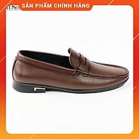 Giày da nam cao cấp - giày da bò nam thời trang HT.NEO da bò 100% kiểu dáng nam tính lịch lãm, đường may chắc chắn(D36)