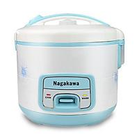 Nồi Cơm Điện Nagakawa NAG0113 (1.8 Lít) - Xanh - Hàng Chính Hãng