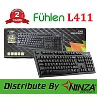 Bàn phím có dây Fuhlen L411 dùng cho văn phòng hoặc chơi game hàng chính hãng Ninza