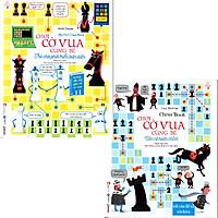 Combo 2 cuốn Chơi cờ vua cùng bé - TRÒ CHƠI PHÁT TRIỂN TOÀN DIỆN (Quyển 1), VÁN CỜ HOÀN CHỈNH (Quyển 2)