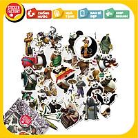 Kung Fu Panda - Set 30 sticker hình dán