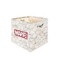 Thùng chứa đồ Miniso in hình Marvel - Hàng chính hãng