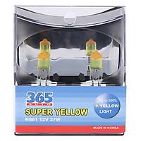 Bóng Đèn Phá Sương 365-Auto H881 Super Yellow (27W) - Vàng
