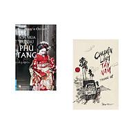 Combo 2 cuốn sách: Bốn Mùa Trên Xứ Phù Tang + Chuyện Lính Tây Nam