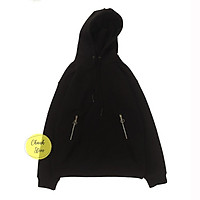 Áo Hoodie Zip Túi Nam Nữ - Vải Dày
