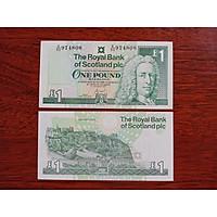 Tiền giấy Scotland 1 Pound xưa sưu tầm - tặng kèm bao lì xì - The Merrick Mint