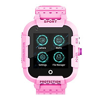 Đồng hồ định vị trẻ em Wonlex KT12 ( Hồng ) - Hàng chính hãng
