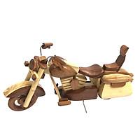 Mô hình xe gỗ Motor Harley Davidson - Loại 2 - Size Nhỏ