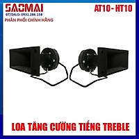 Bộ 2 Loa Treble kèn THUMPER HT10 - Tặng 2 tụ và 5m dây loa - Hàng chính hãng