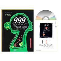 Combo 2 sách 999 bức thư viết cho chính mình song ngữ Trung việt có phiên âm+101 Thông Điệp Thay Đổi Cuộc Đời Phụ Nữ+DVD tài liệu