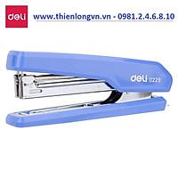 Dập ghim số 10 Deli - 0229 màu xanh