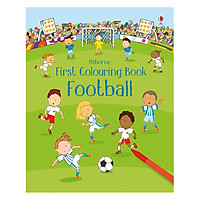 Sách tô màu First Colouring Book: Football