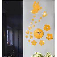 Đồng hồ dán tường DH005 trang trí nhà cửa, quán cafe