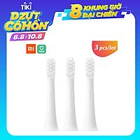 3 đầu bàn chải đánh răng điện thay thế cho Xiaomi Mijia T100 Sonic tốt cho nứu