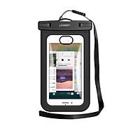 Túi đựng điện thoại chống nước tiêu chuẩn IPX 8 độ sâu 20m trong suốt cho màn hình từ 4 đến 6.5 inch Ugreen 50919 Hàng chính hãng