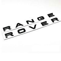 Logo chữ RANGEROVER 3D nổi dán trang trí xe ô tô