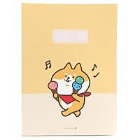Sổ Morning Glory Shiba Perfect 20J 83300 - Màu Vàng