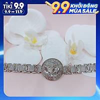 (ẢNH THẬT) Vòng tay  nữ bạc 925 xi bạch kim  (MSP: VT170700)