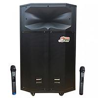 Loa kẹo kéo karaoke bluetooth Temeisheng QX 15-18 - Hàng nhập khẩu