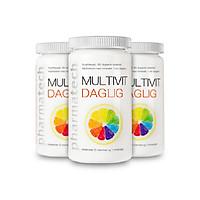 Combo 3 lọ Multivit Daglig bổ sung Vitamin và khoáng chất 180 viên