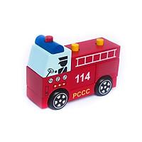 Đồ Chơi Gỗ Lắp Ráp Xe Cứu Hỏa | Đồ chơi mô hình xe chữa cháy Việt Nam cho bé