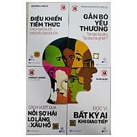 """Combo bộ sách Tâm lý học ứng dụng - Thấu hiểu con người """"từ trong ra ngoài""""tv"""