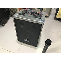 Loa Kéo KIOMIC Q8  Loa karaoke mini di động Tặng Kèm 1 Micro không dây 2020 - Hàng Chính Hãng