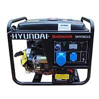 Máy phát điện HYUNDAI chạy dầu 4.5KW ( đề nổ)