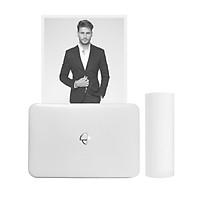 Poooli L3 300dpi Portable Thermal Printer 57.5mm/79.5mm/110mm Paper Width BT Wireless Photo Printer Grayscale Mode