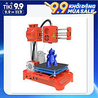 EasyThreed 3D Printer for Kids Mini Desktop 3D Printer 100x100x100mm Print Size No Heated Bed One-Key Printing with TF