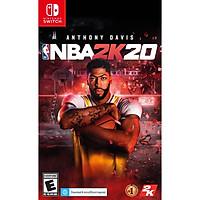 Đĩa Game NBA2K20 Cho Máy Game Nintendo Switch-Hàng nhập khẩu