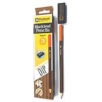 Bút chì đen 2B - DIP Elephant (1 Hộp) - Tặng kèm gôm trong hộp