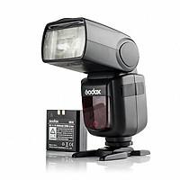 Đèn Godox V860II-C 2.4G GN60 TTL HSS 1/8000s Li-on Battery for Canon Camera - Hàng Chính Hãng