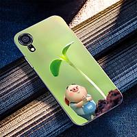 Ốp điện thoại dành cho máy iPhone X/XS - Heo con ngắm cây nhỏ MS FUNN0027