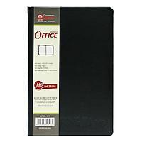 Sổ Hồng Hà Office H6 4573 - 160 Trang - 12.8x19.7 cm - Mẫu 2 - Màu Đen