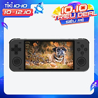 Powkiddy RGB10 MAX 5 Inch Video Game Console Handheld Game Players Double 3D Rocker 64GB TF Card Built in 22000 Games