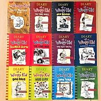 Combo 12q - Diary of a wimpy kid - Tặng file nghe - Giấy vàng chống lóa, mỏi mắt