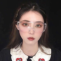 Unisex Foldable Adjustable Safety Goggles Anti-dust Windproof Lab Glasses Clear PC Lens Black/Transparent