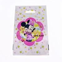 10 túi quà Party gift bag 17 x 25 cm hình chuột Minnie