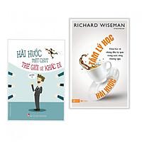 Combo sách nghệ thuật hài hước : Hài hước một chút thế giới sẽ khác đi + Tâm lý học hài hước - Tặng kèm bookmark thiết kế