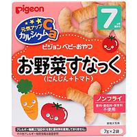 Bánh ăn dặm Pigeon 7M+ vị cà rốt, cà chua