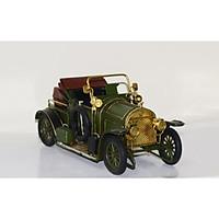 Mô hình xe hơi cổ Châu Âu kim loại trưng bày/ Vintage Metal Car handmade Decoration(1810D-1134)