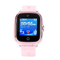 Đồng hồ định vị trẻ em chống nước Wonlex KT01 (GPS, WIFI, LBS) có rung, camera (Hồng) - Hàng chính hãng