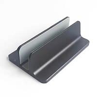 Đế kẹp nhôm dựng đứng một khe dành cho Laptop Macbook Ipad Surface