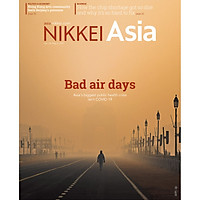 Nikkei Asian Review: Nikkei Asia - 2021: BAD AIR DAYS - 17.21 tạp chí kinh tế nước ngoài, nhập khẩu từ Singapore