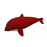 Gối Ôm Hình Con Cá Voi Hometex - Đỏ (75 x 30 cm)