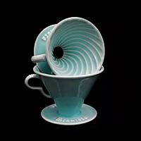 Phễu lọc cà phê V60 sứ cao cấp Brewista Dripper  - Màu xanh ngọc