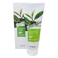Sữa Rửa Mặt Trà Xanh_Verobene Green Tea Cleansing Foam 150ml
